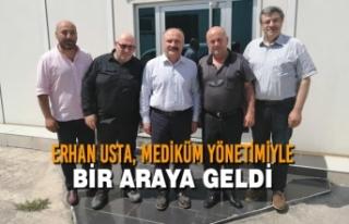 Erhan Usta, Mediküm Yönetimiyle Bir Araya Geldi