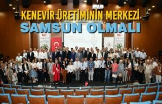 Vali Kaymak; 'Kenevir Üretiminin Merkezi Samsun...