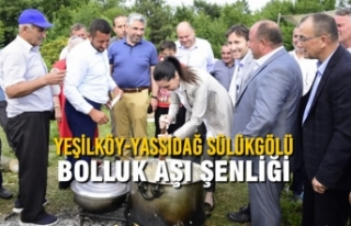 Yeşilköy-Yassıdağ Sülükgölü Bolluk Aşı Şenliği