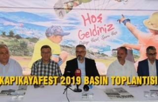 Kapıkayafest 2019 Basın Toplantısı