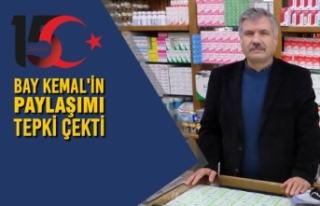 Kemal Bütüner'in Yaptığı Paylaşım Tepki Çekti