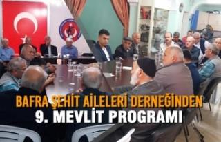 Bafra Şehit Aileleri Ve Gaziler Dayanışma Derneğinden...