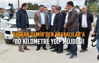 Başkan Mustafa Demir'den Kavaklılar'a...