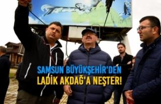 Samsun Büyükşehir'den İlave Yatırımlar...
