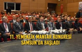 11. Yemeklik Mantar Kongresi Başladı