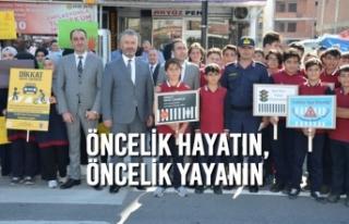 19 Mayıs İlçesinde 'Öncelik Hayatın, Öncelik...