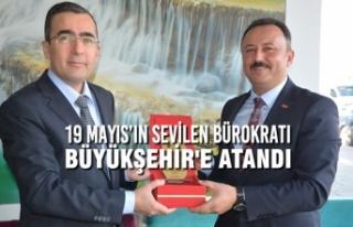 19 Mayıs'ın Sevilen Bürokratı Samsun'da