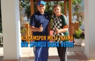Alaçamspor Milli Takıma Bir Sporcu Daha Verdi