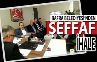 Bafra Belediyesi İlçede Yine Bir İlki Gerçekleştirdi