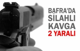 Bafra'da Silahlı Kavga; 2 Yaralı