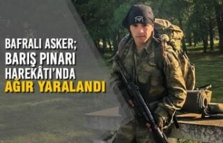 Bafralı Asker; Barış Pınarı Harekâtı'nda...