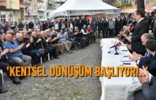 Başkan Demir, Soğuksu Ve Gaziosmanpaşa'da...