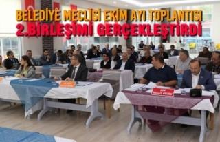 Belediye Meclisi Ekim Ayı Toplantısı 2.Birleşimi...