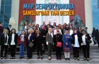 MHP Samsun Kadın Kollarından Ankara Çıkarması