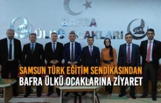 Samsun Türk Eğitim Sendikasından Bafra Ülkü Ocaklarına...