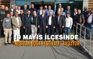 """19 Mayıs İlçesinde """"Nebiyan Doğa Festivali""""..."""
