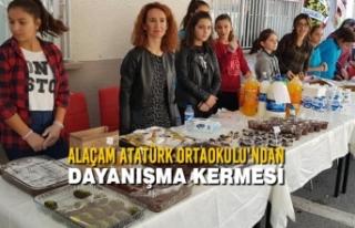 Alaçam Atatürk Ortaokulu'ndan Dayanışma Kermesi