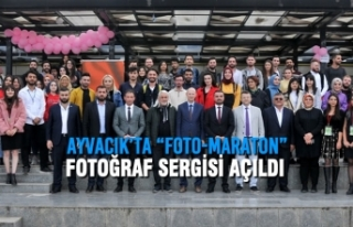 "Ayvacık'ta ""Foto-Maraton"" Fotoğraf Sergisi..."