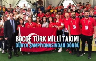 Bocce Türk Milli Takımı Dünya Şampiyonasından...