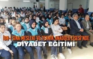 İbn-i Sina Mesleki ve Teknik Anadolu Lisesi'nde...