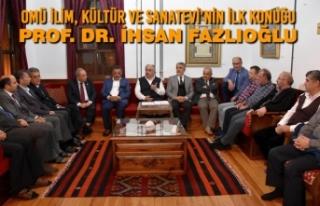 OMÜ İlim, Kültür ve Sanatevi'nin İlk Konuğu...