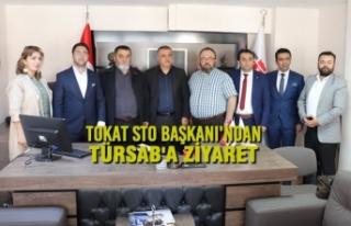 Tokat STO Başkanı'ndan TÜRSAB'a Ziyaret