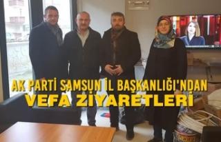 AK Parti Samsun İl Başkanlığı'ndan Vefa...