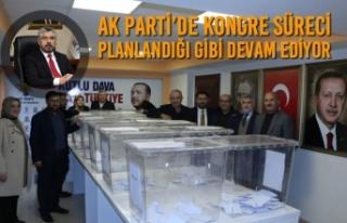 AK Parti'de Kongre Süreci Planlandığı Gibi Devam...