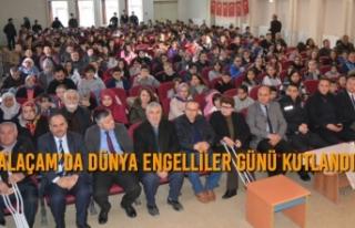 Alaçam'da 3 Aralık Dünya Engelliler Günü Kutlandı