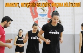 Anakent, Nevşehir Belediye Maçına Kilitlendi