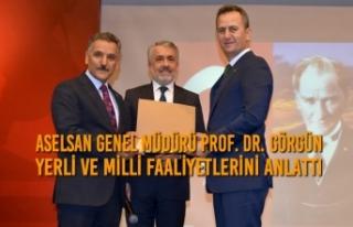ASELSAN Genel Müdürü Yerli ve Milli Faaliyetlerini...