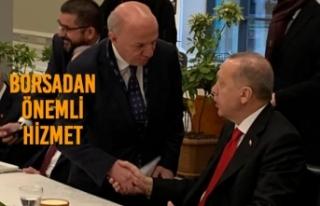 Başkan Çakır, Cumhurbaşkanı Erdoğan'a Rapor...
