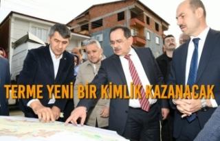Başkan Demir'den Terme'ye Müjde Üstüne...