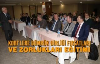 KOBİ'lere Gümrük Birliği Fırsatları ve Zorlukları...