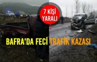 Örencik Mahallesinde Feci Kaza: 7 Yaralı