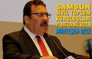 Samsun Sivil Toplum Kuruluşları Platformu'ndan...
