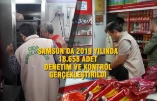 Samsun'da 2019 Yılında 18.658 Adet Denetim ve...