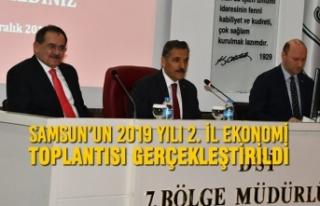Samsun'un 2019 Yılı 2. İl Ekonomi Toplantısı...