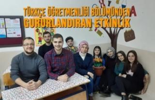 Türkçe Öğretmenliği Bölümünden Gururlandıran...
