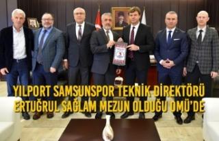 Yılport Samsunspor Teknik Direktörü Ertuğrul Sağlam...