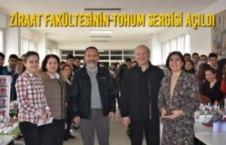 Ziraat Fakültesinin Tohum Sergisi Açıldı