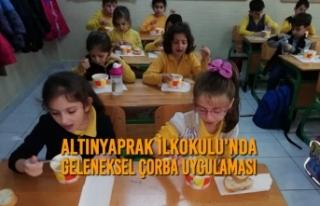 Altınyaprak İlkokulu'nda Geleneksel Çorba...