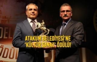 Atakum Belediyesi'ne 'Kültür Sanat'...