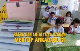 Bafra'dan Antalya'ya Uzanan Mektup Arkadaşlığı