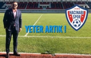 """Bafra Hacınabispor Başkanı İsa Köprü """"Yeter..."""