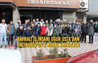 Bafralı İş İnsanı Uğur Usta'dan Hacınabispor'a...