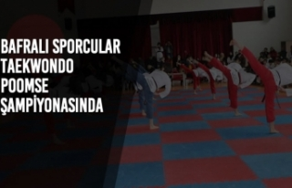 Bafralı Sporcular Taekwondo Poomse Şampiyonasında