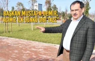 """Başkan Demir, """"Acımız İlk Günkü Gibi Taze"""""""