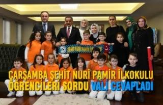 Çarşamba Şehit Nuri Pamir İlkokulu Öğrencileri...