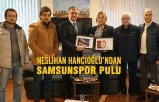 Neslihan Hancıoğlu'ndan Samsunspor Pulu